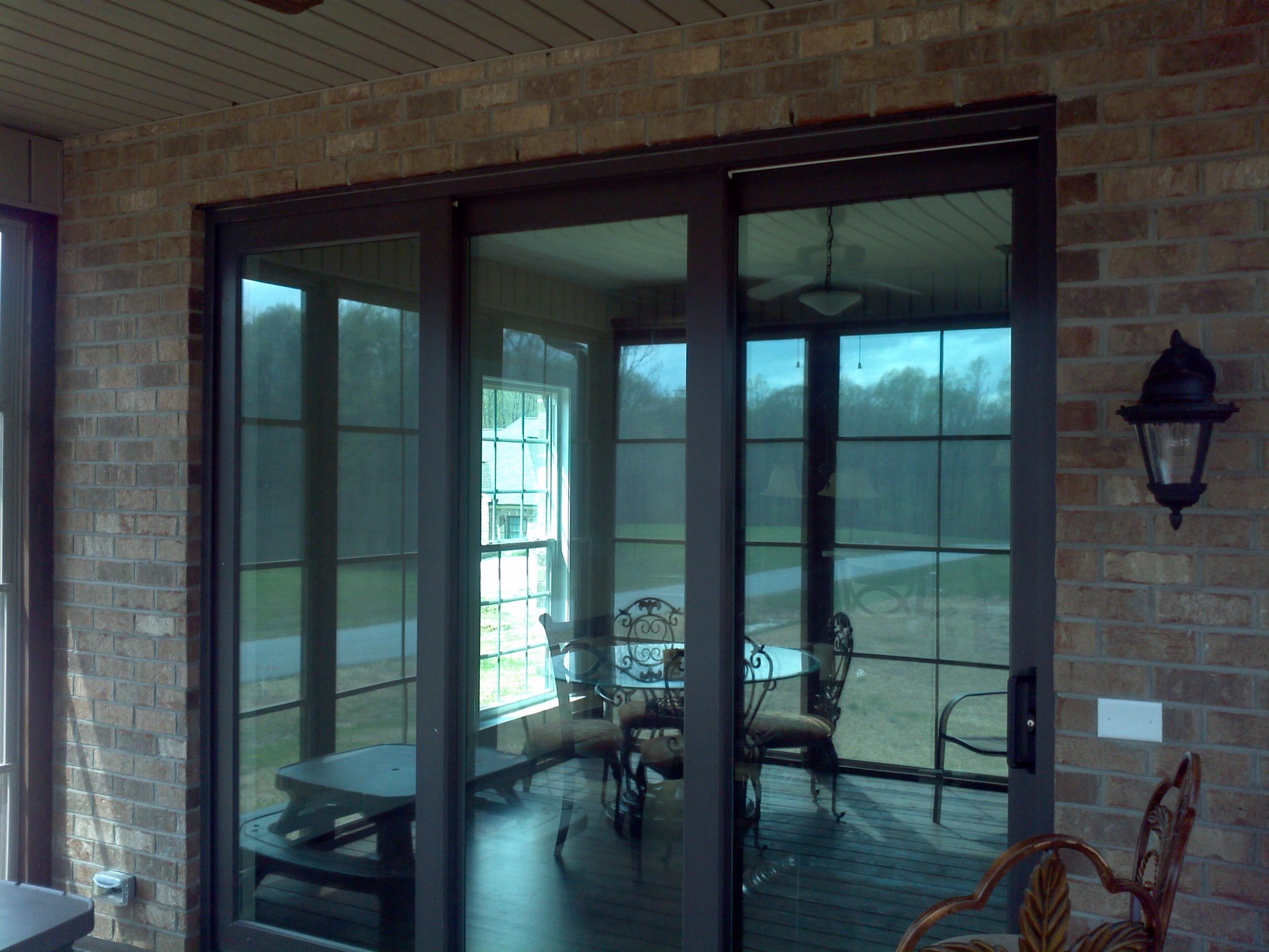 Sliding glass doors greenville sc vinyl sliding door for Sliding glass door wall system